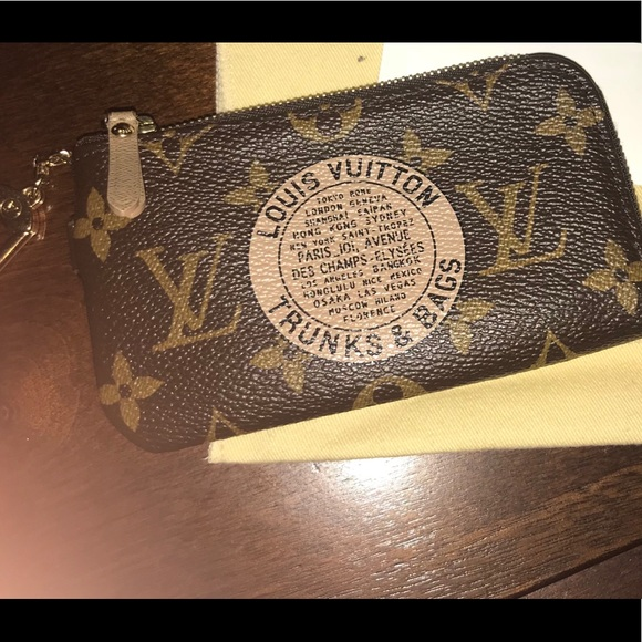 7be40ffc14a Limited Louis Vuitton Trunks and Bags Key fob